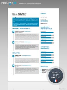 SoHo is a free creative resume template using rectangle speech bubbles.