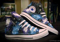 Galaxy converse fashion stars shoes converse galaxy
