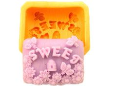 Sweet Shape Silicone mold Handmade Soap Mold Biscuit Mold
