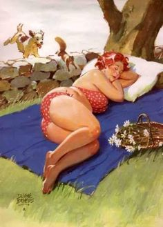 [Pin-up Girl by Duane Bryers: Hilda Funny Quotes, Funny Memes, Hilarious, Jokes, Arte Pin Up, Pin Up Retro, Retro Humor, Pin Up Girls, I Laughed