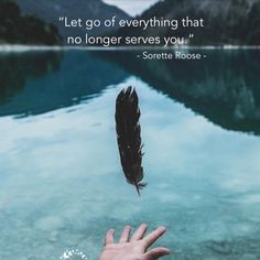Let go of everything that no longer serve you Let Go Of Everything, Long A, Inner Peace, Personal Development, Letting Go, Positive Quotes, Believe, Spirit, Let It Be
