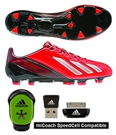 The Infrared color shouts out. Amazingly lightweight! www.soccercorner.com