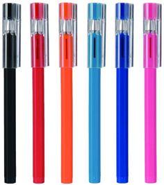 Love at first write.......Gel Ink Hexagonal Pens from Muji