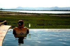 Chickwenya - Luxury Safari Lodge in Zimbabwe located on the banks of the mighty Zambezi River.
