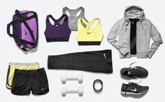 Gear up for spring. Refresh your wardrobe with training essentials like the Nike Pro Hypercool Flash Sports Bra. #gear #nike