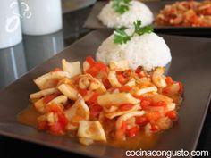 Receta Calamares a la mediterránea, para Cocina con gusto - Petitchef