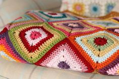 Cherry Heart: Blog: Colour Theory Blanket
