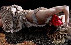 Vogue Germany - Volcano Dance. Javier Vallhonrat