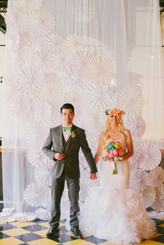 Handmade Ohio Wedding: Dane & Leslie painel