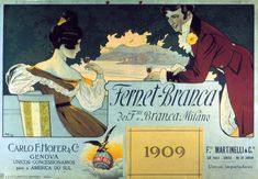 Fernet Club - Historiallisia kuvia Fernetin maailmasta Italian Posters, Advertising Poster, Ads, Vintage Labels, Club, Beverages, Movie Posters, Painting, Design