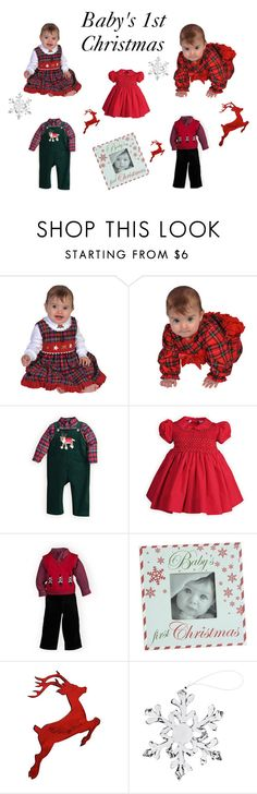 """""""Baby's 1st Christmas"""" by woodensoldier on Polyvore featuring Slippin' Southern"""