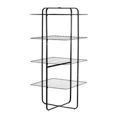 MULIG Wäschetrockner 4stufig, innen/außen IKEA Für drinnen und draußen geeignet.