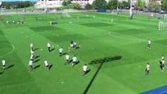 """This is """"Diamond Passing- Warmup"""" by The Triangle Training Method on Vimeo, the home for high quality videos and the people who love them. Football Drills, Soccer Training, Far Away, Soccer Ball, Kicks, Things To Come, Games, Box, Triangle"""