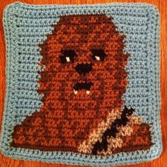 Star Wars crochet blanket : free charts and explanations !   Ahookamigurumi