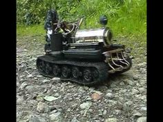 RC Live Steam Tank - YouTube
