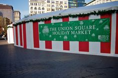 Union Square Holiday #Market in #NewYork #Christmas