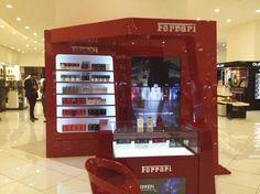 Qatar, Paris Gallery, Ferrari fragrances corner