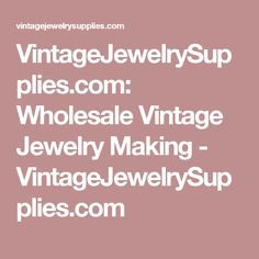New and Wholesale Jewelry Making Supplies Online Jewelry Making Supplies, Craft Supplies, Buy Gems, Jewelry Crafts, Jewelry Ideas, Bead Shop, Shopping Sites, Wholesale Jewelry, Pretty Woman