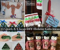 Christmas is probably everyone's favorite time of the year. What better way to celebrate this holiday than with creative handmade Christmas gifts. We've gathered together 24 Quick and Cheap DIY Christmas Gifts Ideas from crafters and bloggers around the world, to let you get inspired. Source  Tutorial Source Source Tutorial Tutorial Tutorial Tutorial Tutorial Tutorial […]