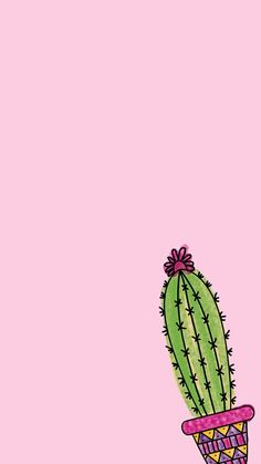 20 Cutest Wallpaper Cactus for Your iPhone Wallpaper Cute Backgrounds, Cute Wallpapers, Wallpaper Backgrounds, Iphone Wallpaper, Pink Wallpaper, Screen Wallpaper, Cactus Art, Aesthetic Wallpapers, Instagram