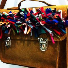Crazy leather bag