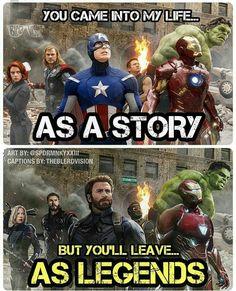 Avengers love: Avengers fan