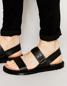 Dr Martens Kennet Buckle Strap Leather Sandals