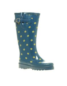 Lots Of Dots Rainboot - Womens Chooka Boots Rubber Rainboots