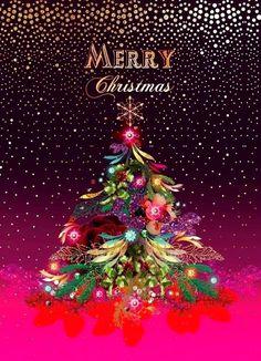 christmas wishes - Merry Christmas Wallpaper, Merry Christmas Images, Merry Christmas Wishes, Dark Christmas, Christmas Pictures, Christmas Art, Christmas Greetings, All Things Christmas, Vintage Christmas