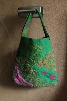 Nuno Felted Bag | Marina Shkolnik Felted Pleasure Flickr - Photo Sharing!
