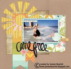 Carefree+@+Pensacola+Beach - Scrapbook.com
