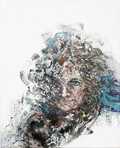 Maggi Hambling - Self portrait