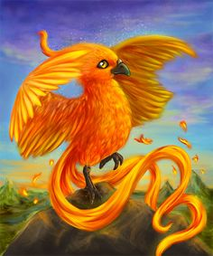 The phoenix or the firebird, is a powerful and ancient creature found in numerous mythologoies of the Arabian, Persians, Greeks, Romans, Egyptians, Chinese