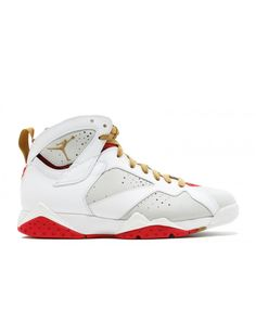 on sale c528f 406f4 Air Jordan 7 Retro Yotr Year Of The Rabbit Lght Slvr Mtllc Gld Tr Rd Wht  459873 005