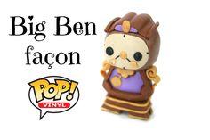 (TUTO) Disney Big Ben façon Pop Funko en fimo - Cogsworth polymer clay