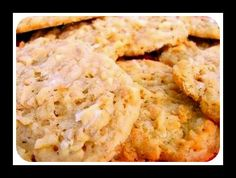 Chewy Coconut Cookies Recipe - Make this easy but delicious recipe in 10 minutes. Just the right balance of sweet and delightfully chewy.