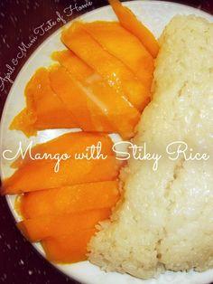 Thai Mango with Sticky Rice recipe