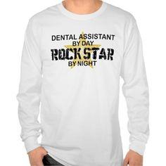 Dental Assistant Rock Star Tee T Shirt, Hoodie Sweatshirt