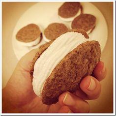 Primal Banana Cream Pie Cookies