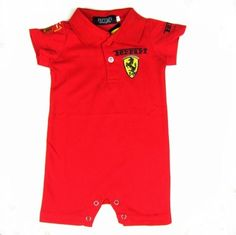 Champari4kidzBoutique - 'Ferrari' Baby Romper,  (http://www.champari4kidzboutique.com/ferrari-baby-romper/)