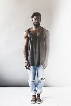 Yagazie Emezi — This is Paul. Jérémy Barniaud is a photographer. Black Men Hairstyles, African Hairstyles, Spring Hairstyles, Dark Man, Dreads Styles, Black Is Beautiful, Casual Outfits, Menswear, Hipster
