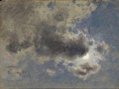 David Cox (1783-1859), Sky Study - 1857