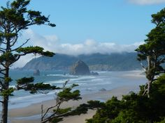 oregon coast pictures | View of Cannon Beach - my favorite spot on the Oregon coast.