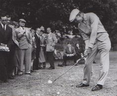 On this day in 1942 Ben Hogan recorded the lowest score (to that time) in a major golf tournament. Hogan shot a 271 for 72 holes.