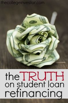 Student loan refinancing is not always as great of a deal as companies would lead you to believe. Here's everything you really need to know before signing on the dotted line. http://thecollegeinvestor.com/16872/know-student-loan-refinancing/
