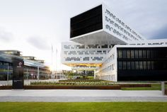 Statoil regional and international offices designed by a-lab; Fornebu / Oslo; 2012
