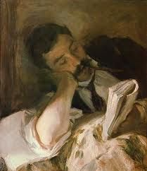 John Singer Sargent - Man Reading