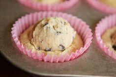 Chocolate Chip Cookie Dough Cupcakes + Cookie Dough Icing = YUM!