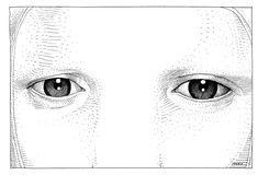 "GINCHY COMICS — ungoliantschilde: Jean ""Moebius"" Giraud in black..."