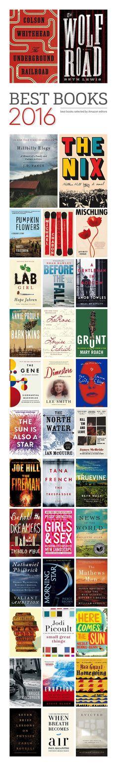 Explore Amazon's 100 best books of 2016